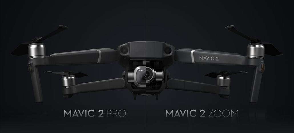 Atualização de firmware v01.00.04.00 para Mavic 2 traz recurso de Controle Remoto Duplo