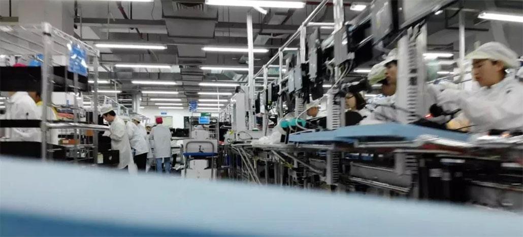 Mavic Air grava o processo final de sua montagem na fábrica da DJI