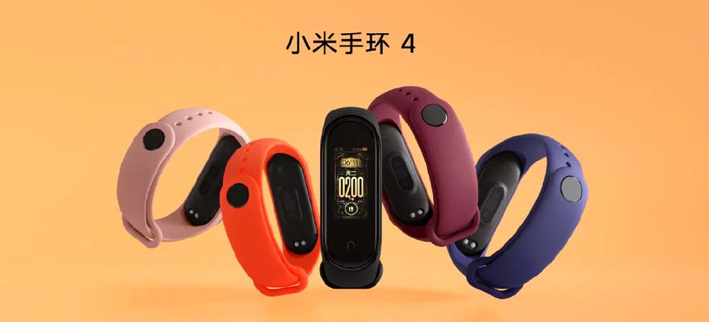 Xiaomi Mi Band 4 é lançada com tela colorida - Preço cai para $43,99