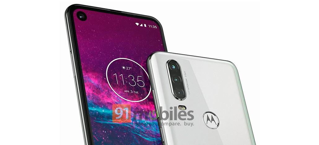 Motorola One Action terá câmera tripla e furo no display [Rumor]