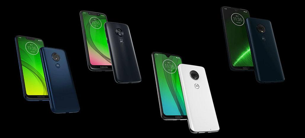 Site da Motorola publica especificações completas dos Moto G7 e G7 Plus, Play e Power
