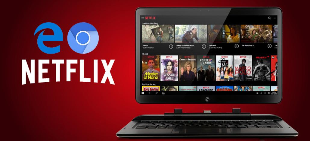 Novo navegador Edge baseado no Chromium terá suporte para Netflix em 4k