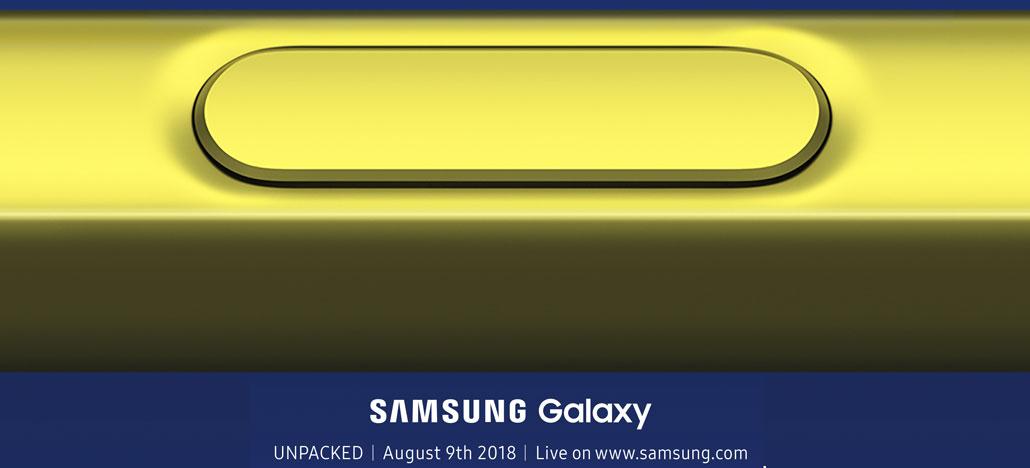 Galaxy Note 9 poderá custar até US$ 1.159 no lançamento