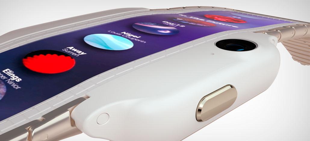 A ZTE apresenta Nubia-a Alpha, conceito de smartphone para usar no pulso