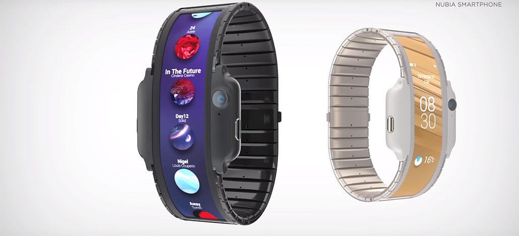 Nubia deve lançar smartwatch com tela flexível na MWC 2019 [Rumor]