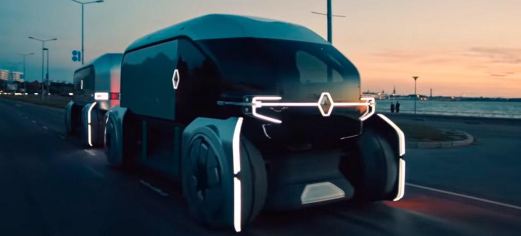 Renault apresenta EZ-PRO, carro autônomo feito para serviços comerciais e empresariais