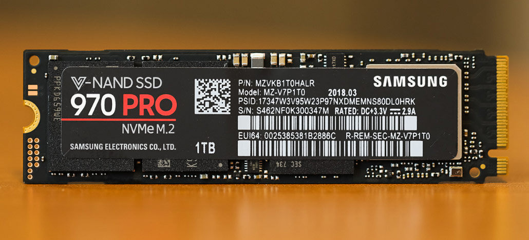 Samsung deve lançar um SSD NVMe da linha 970 Pro com 2TB em breve