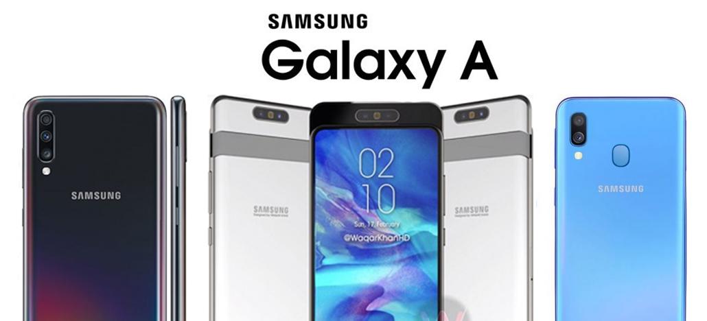 Galaxy A90, que agora é A80, será destaque no evento Galaxy A da Samsung dia 10 de abril