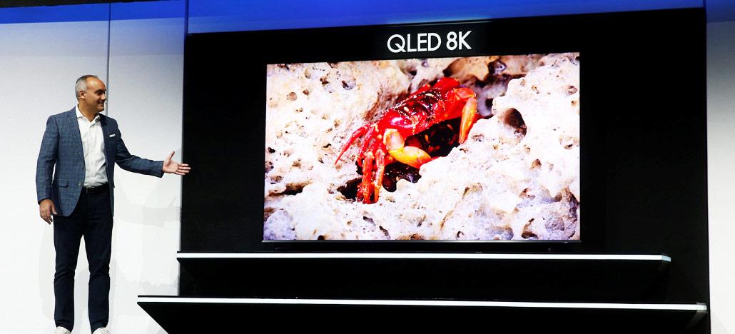 Confira as TVs QLED de 8K no estande da Samsung na CES 2019!