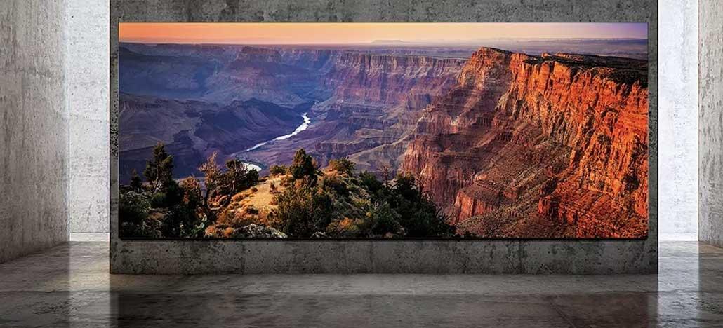 Samsung lança tela de até 292 polegadas e 8K, a