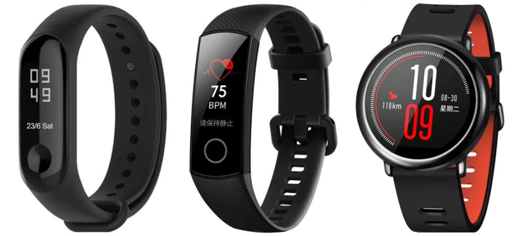 Smartbands em promoção: Xiaomi Mi Band 3, Huawei Honor 4 Sports, Xiaomi AMAZFIT