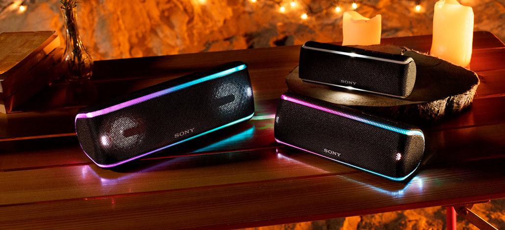 Sony apresenta novas caixas de som Bluetooth com foco na resistência e duração de bateria