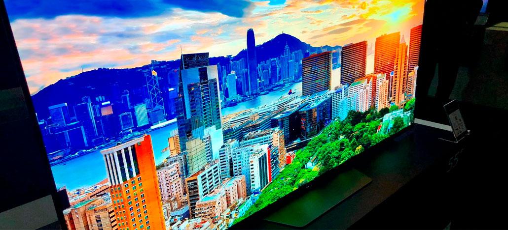 Sony traz a linha de Smart TV XBR para as principais lojas de eletrônicos do Brasil