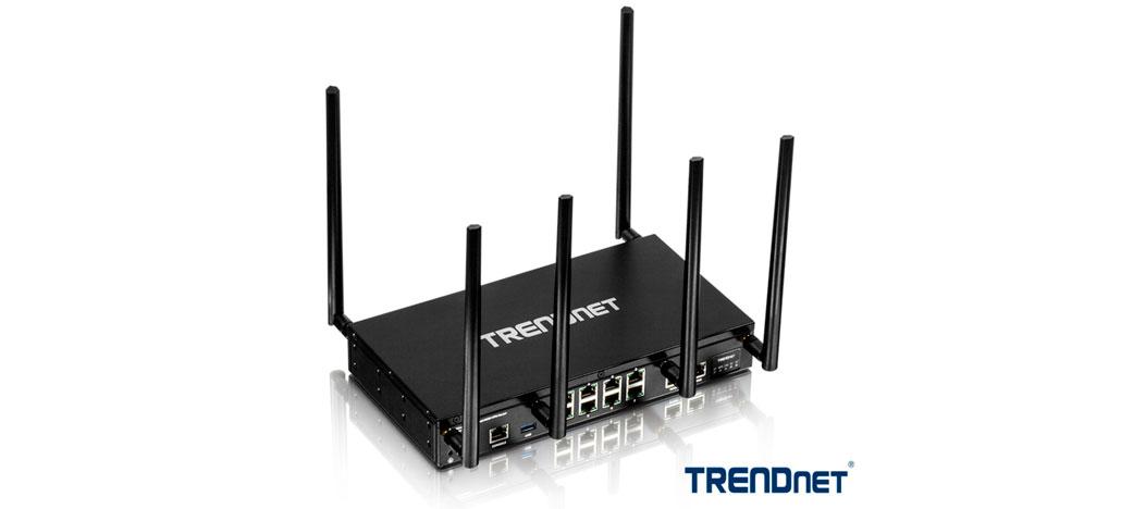 TRENDnet lança seu primeiro roteador para o mercado corporativo, o TEW-829DRU