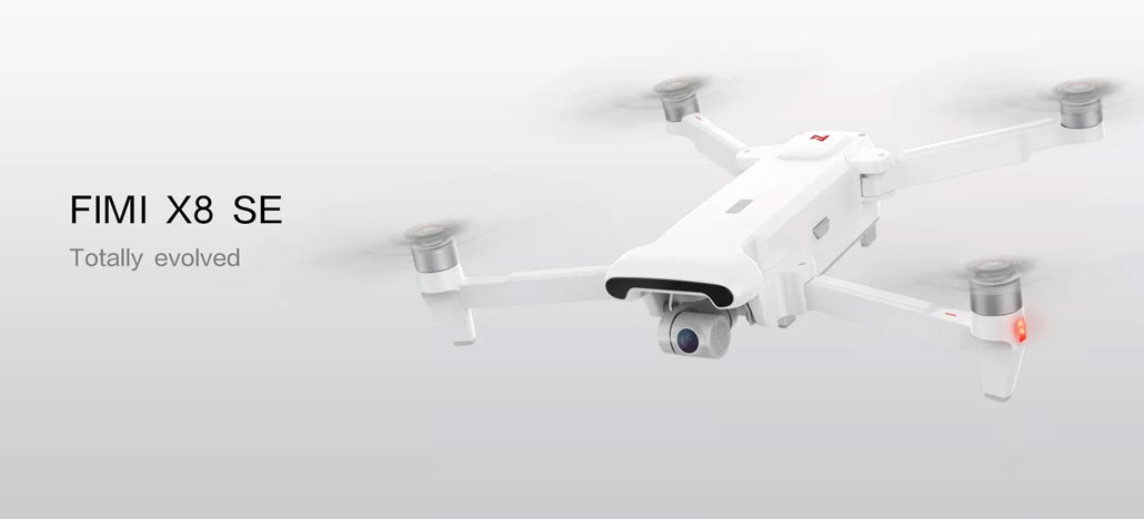 Drone Xiaomi FIMI X8 SE tem design semelhante ao Mavic Air, mas preço bem mais baixo