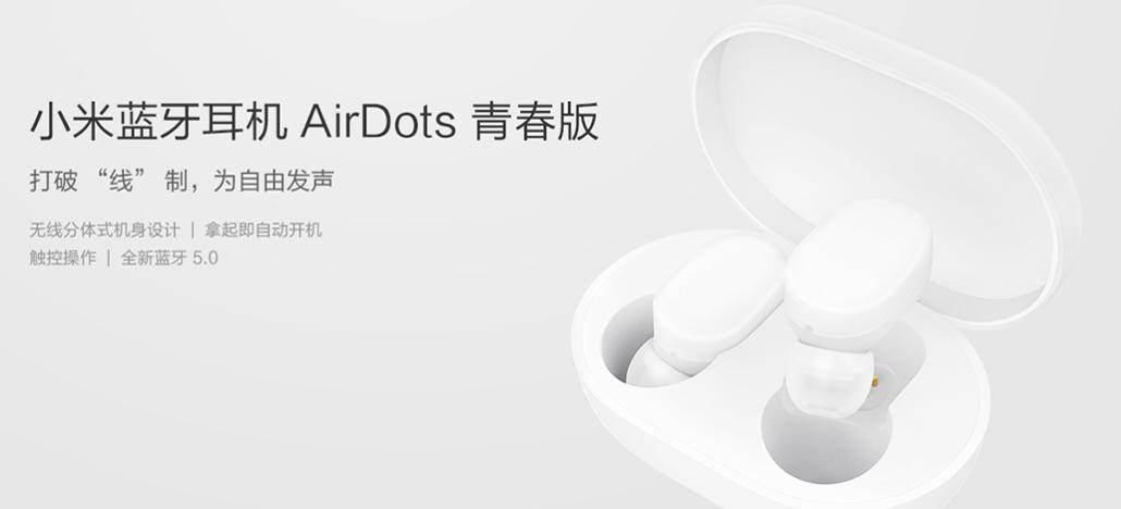 Xiaomi apresenta fones wireless Mi Air Dots Youth Edition